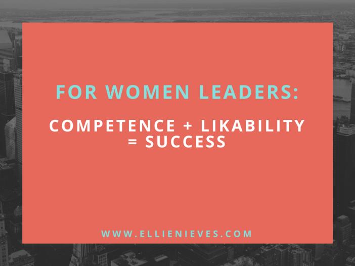 For women leaders